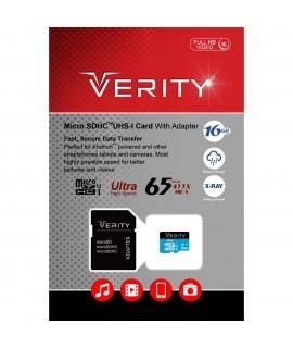 Verity Micro Class 10 U1 16GB Memory